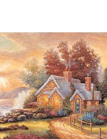Country Retreats 8 x 500 Piece Jigsaw Set