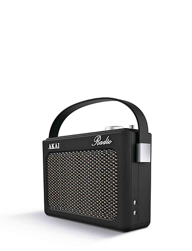 Akai Retro Radio