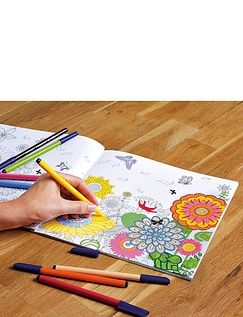 Set of 4 Colouring Books