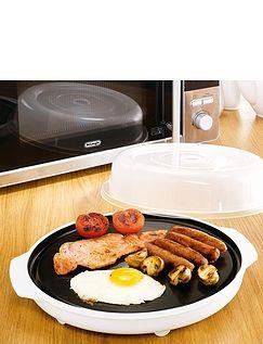 Microwaveable Browning Plate