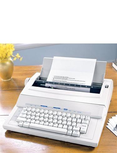 Standard Electronic Typewriter