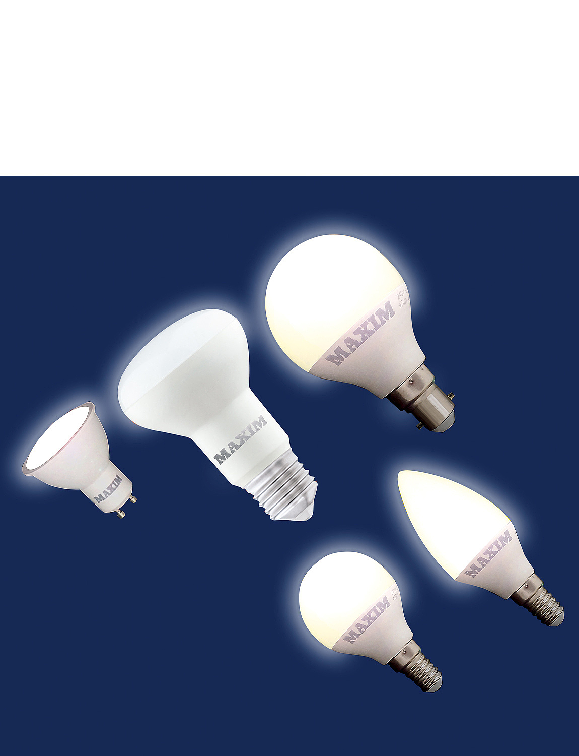 LED Spotlight Screw Fitting Lifetime Bulbs - MULTI