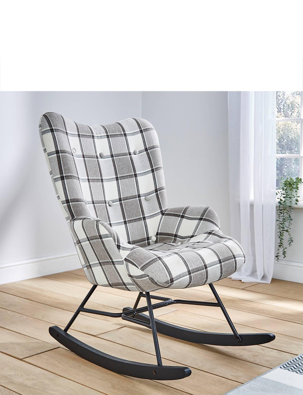 High Back Rocking Chair - MULTI
