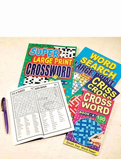 Puzzle Book Selection