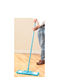 Extendable Microfibre Floor Sweeper