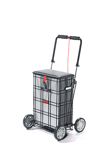 4 Wheel Shop-A-Seat Trolley