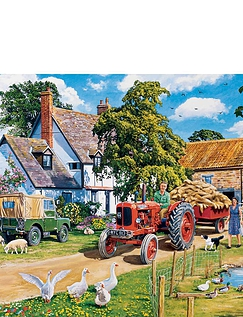 The Farmers Round Jigsaw Boxed Set