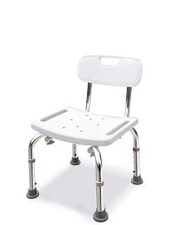 Sturdy Shower Seat With Backrest