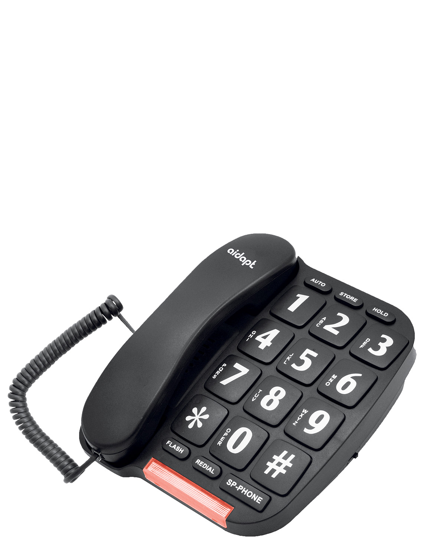 Big Button Phone - Black