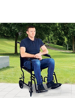 Transit Steel Wheelchair