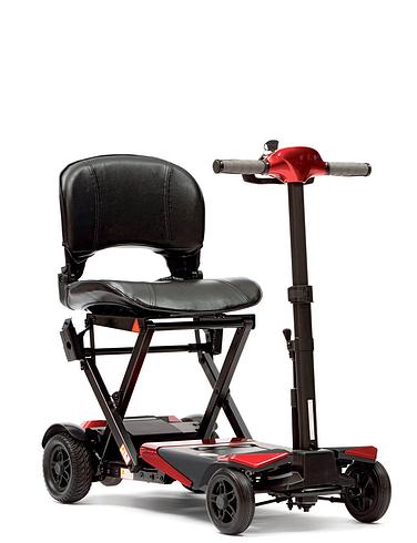Manual Folding Lightweight 4 Wheel Scooter