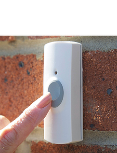Plug In Wireless Door chime With Free Extra Sounder