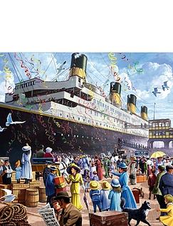 Classic Titanic 1000pc Jigsaw