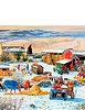 Winter On The Farm 1000 Piece Jigsaw