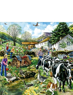 Another Day on the Farm 1000pc Jigsaw