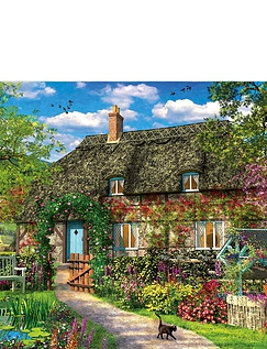 Old Cottage 1000pc Jigsaw
