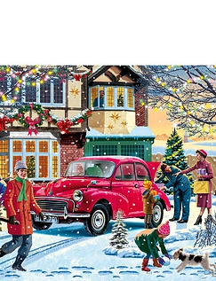 4 x 1000pc Family Time at Christmas Jigsaws
