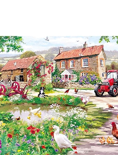 Gibsons Duckling Farm  636pc Jigsaw