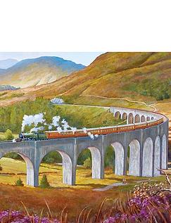 Gibsons Glenfinnan Viaduct 636pc Jigsaw