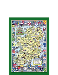 Historical Country Maps  Ireland 1000pc Jigsaw