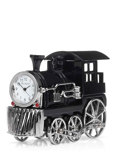 Miniature Train Clock