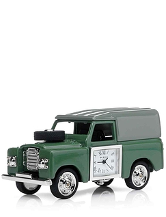 Miniature Landrover Clock