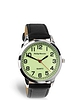 Big Time Glow In The Dark Mens Black Strap Watch