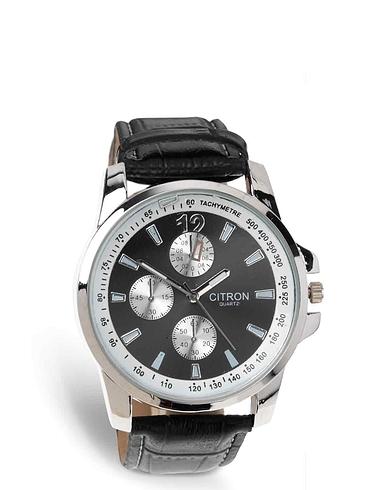 Mens Silver Citron Watch