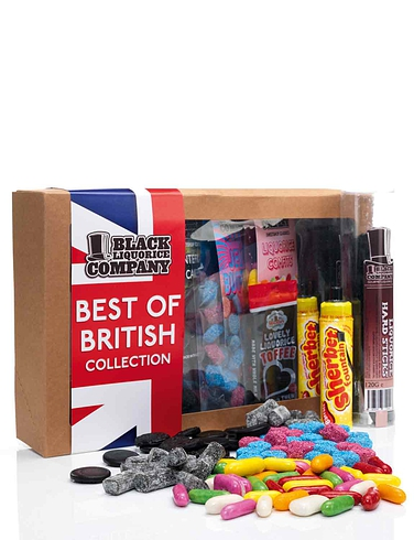 Best of British Liquorice Box