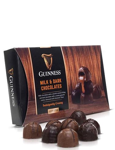 Guinness Luxury Milk And Dark Chocolate Truffle Domes