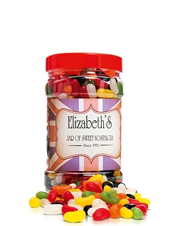Giant 1kg Jelly Bean Jar