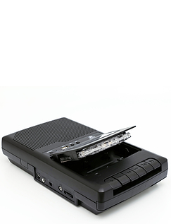 GPO Portable Cassette Recorder With Separate Microphone