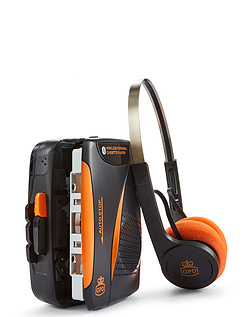 Walkman With Wireless Headset & Bluetooth