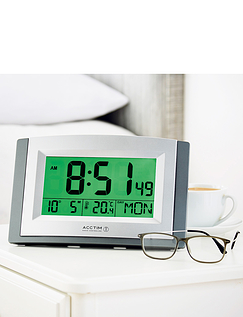 Acctim Radio Controlled Big Number Display Digital Clock With Smartlite
