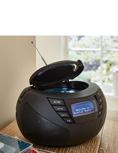 Steepletone Portable DAB Radio and CD Player