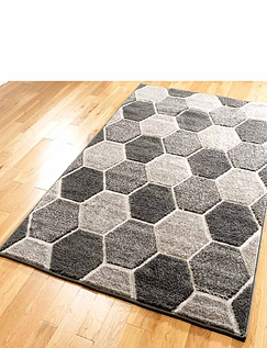 3D Honeycomb Rug 160x230