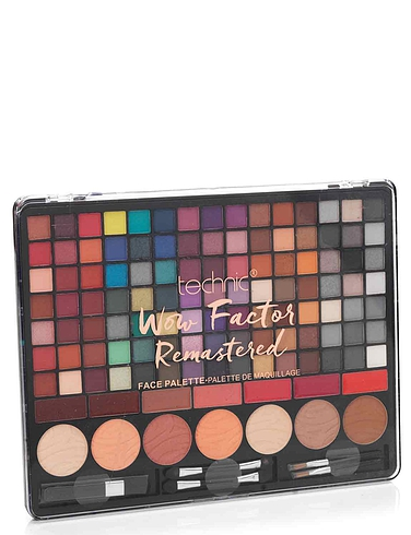 Technic Large Wow Factor 105 Eyeshadow Makeup Palette