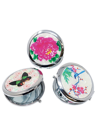 Set of 3 Compact Mirrors