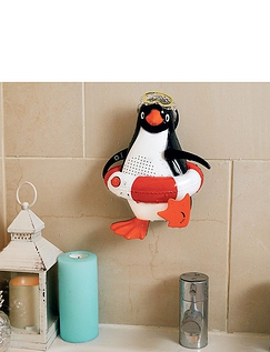 Showerproof Penguin FM AM Radio