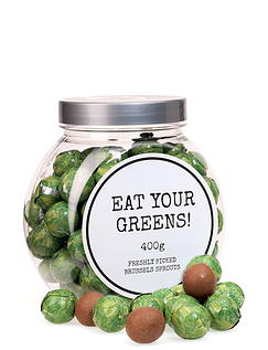 Chocolate Sprouts Jar