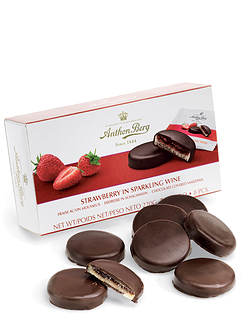 Anton Berg Strawberry And Champagne Marzipan