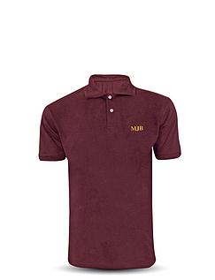 Monogrammed Polo Shirt