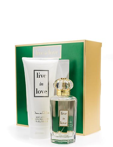Oscar De La Renta Live In Love Gift Set