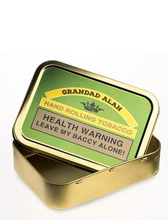 Rolling Tobacco Tin