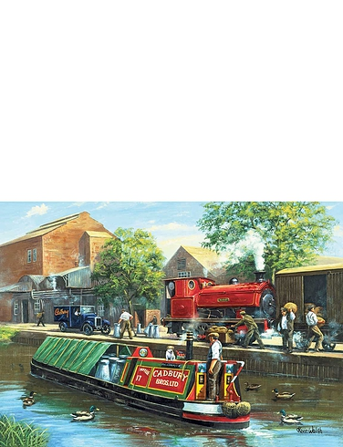 Canal Transport Jigsaw Puzzle