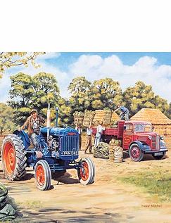 Harvest Time 4 x 500 Piece Jigsaw Set