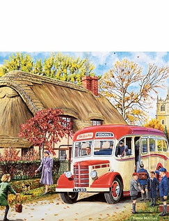 Days of Our Youth 4 x 1000 Piece Jigsaw Set