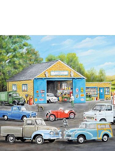 Motoring Memories Box Set of Jigsaw Puzzles