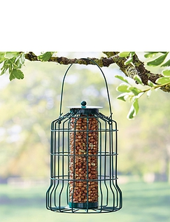 Set of 2 Squirrel Proof Bird Feeders