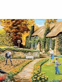Village Through The Seasons Box Set Jigsaws